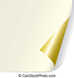 rizo, página, (vector)