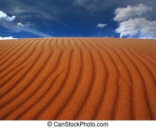 Rizos de arena