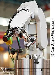 Robótica. El brazo manipulador con detalle