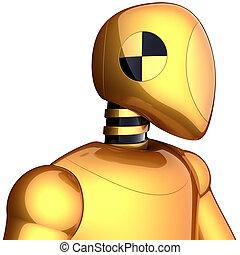 Robot de prueba de Cyborg
