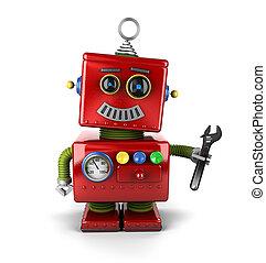 Robot mecánico de juguetes