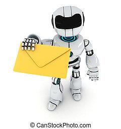 Robot y correo