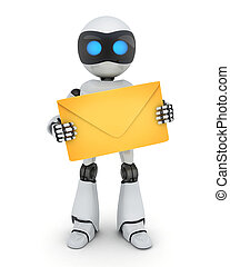 Robot y e-mail