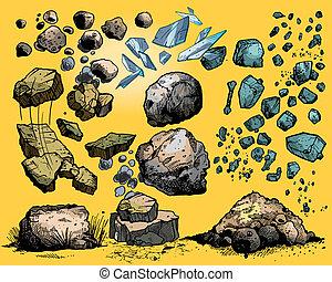 rocas, piedras