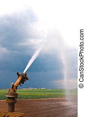 Rociador de agua de la agricultura