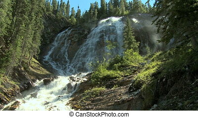 rociar, rockies, cascadas