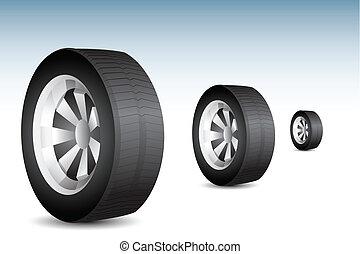 rodante, neumático