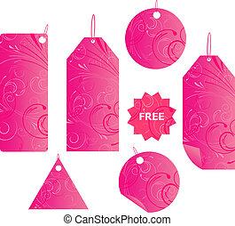 Rodeadores de floración rosados