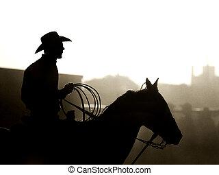 rodeo, vaquero