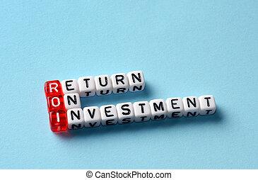 Roi regresa de la inversión