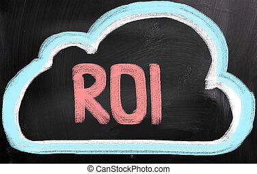 ROI - retorno del concepto de inversión
