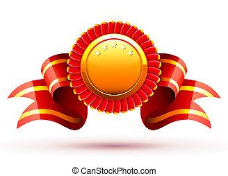 rojo, insignia