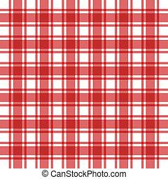 rojo, patrón, plano de fondo, tartán