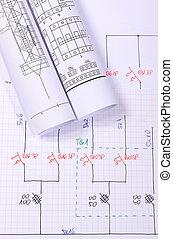 Rollos de diagramas eléctricos