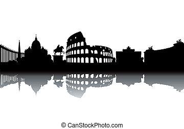 Roma Skyline