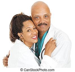 romance en el lugar de trabajo - doctores enamorados