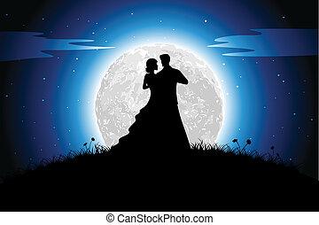 romance, noche