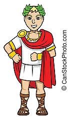 romanos, emperador
