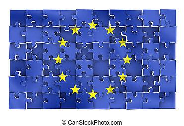rompecabezas de la UE