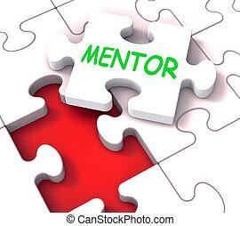 rompecabezas, mentores, mentoring, mentor, mentorship, consejo, exposiciones