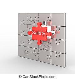 rompecabezas, seguridad