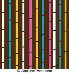 Ropa de bambú o textura de retro
