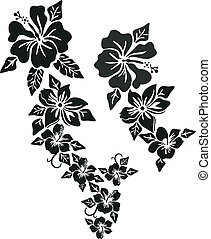 Ropa de flores tropical