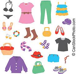 ropa mujeres, accesorios