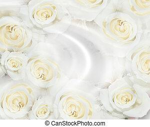 Ropas blancas de boda