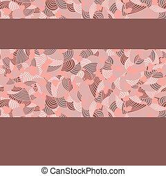 Rosa-brown-pattern
