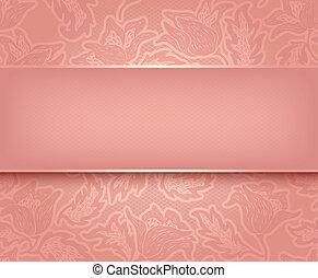 Rosa de encaje