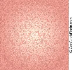 Rosa de encaje, fondo floral