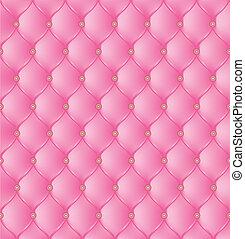 rosa, fondo., resumen, tapicería