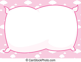 rosa, marco, almohada