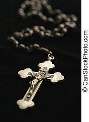 Rosario católico.