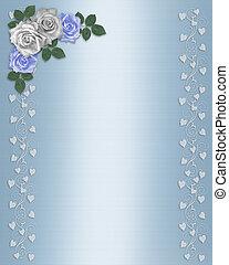 Rosas florales de boda