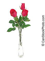 Rosas rojas decorativas