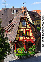 Rothenburg obr der tauber, Alemania