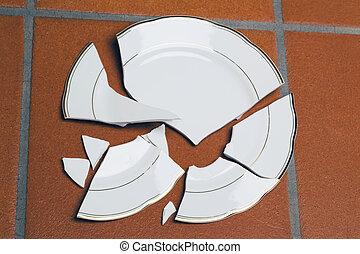 roto, placas