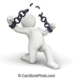 rotura, cadenas