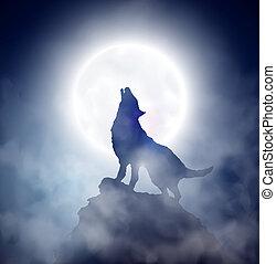 rugir, lobo