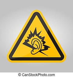 ruido, plano de fondo, ilustración, símbolo, señal, blanco, eps.10, aislar