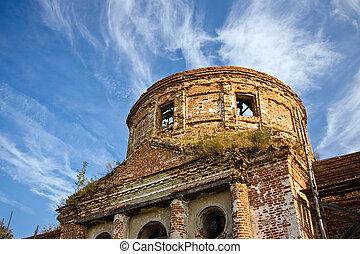 Ruinas de la vieja iglesia