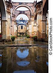 Ruinas de una iglesia en Antigua