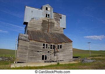 ruinoso, elevador del grano
