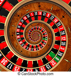 ruleta, espiral