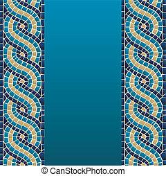 Rumbo mosaico sin marcas