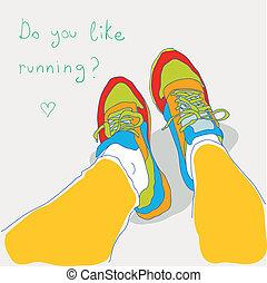 Runnuing