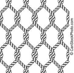 Ruptura de nudo de cuerda inservible