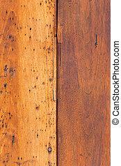 Rustic capeado de madera de granero